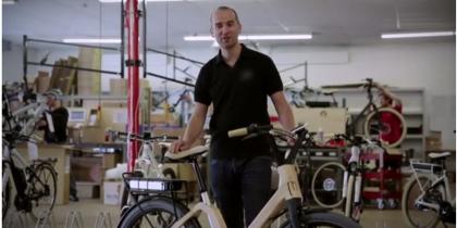 Le vélo en bois des Vosges