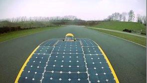 La voiture 100% solaire