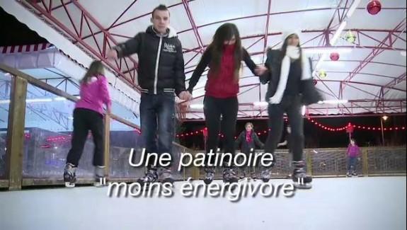 Une patinoire moins énergivore