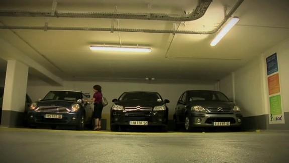 Des voitures de societe