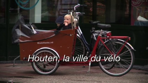 Houten, la ville du vélo
