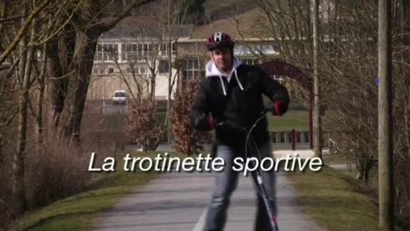 La trotinette sportive