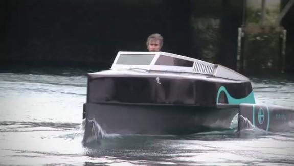 Le concept-boat électrique