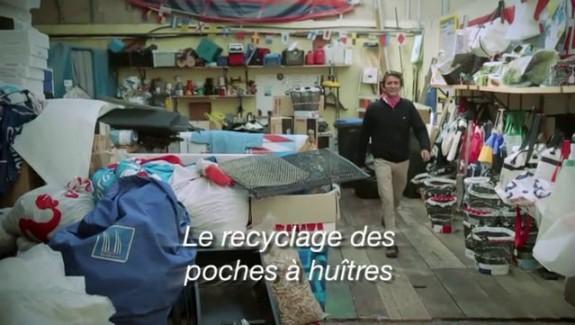 Le recyclage des poches à huitres
