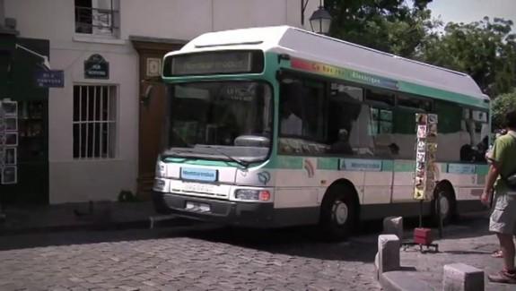 Montmartre en bus électrique