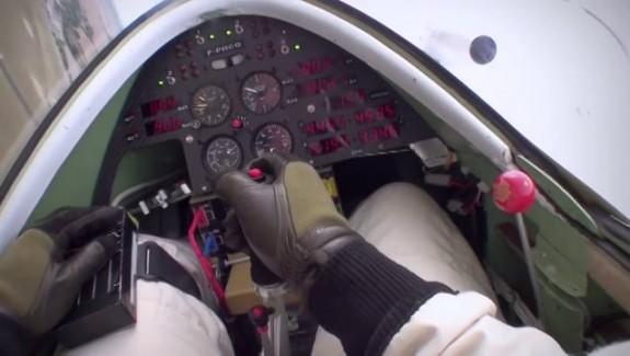Un avion de voltige électrique