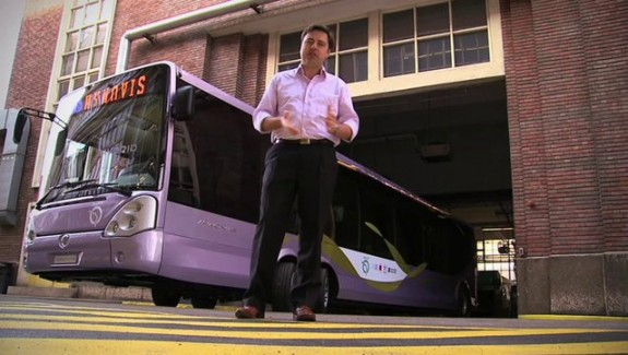Un Bus hybride en test