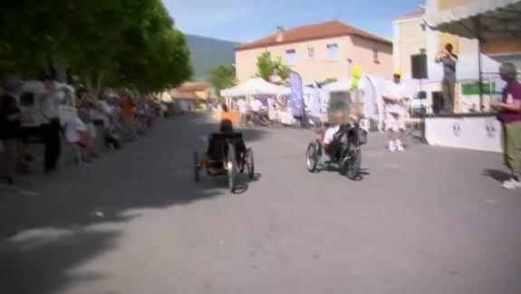 Vélos électriques au mont Ventoux