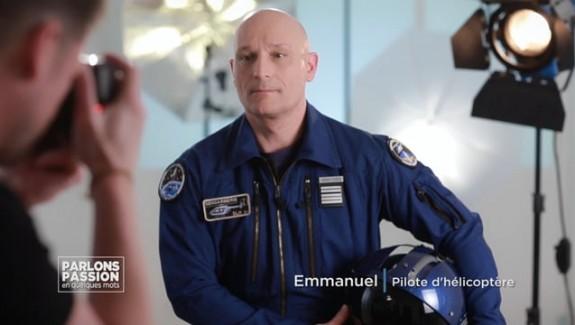Parlons Passion – Emmanuel, pilote d'hélicoptère