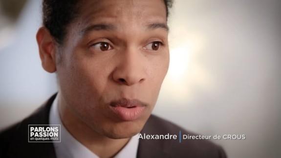 Parlons Passion 2018 – Alexandre, Directeur de CROUS