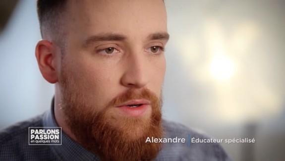 Parlons Passion 2018 – Alexandre, Éducateur spécialisé