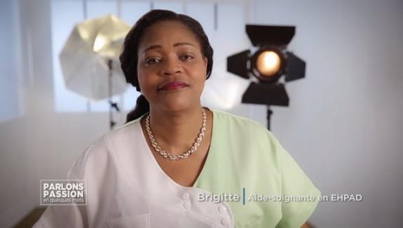 Parlons Passion 2018 – Brigitte, aide soignante en EHPAD