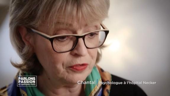 Parlons passion 2018 – Chantal, psychologue à l'hôpital Necker