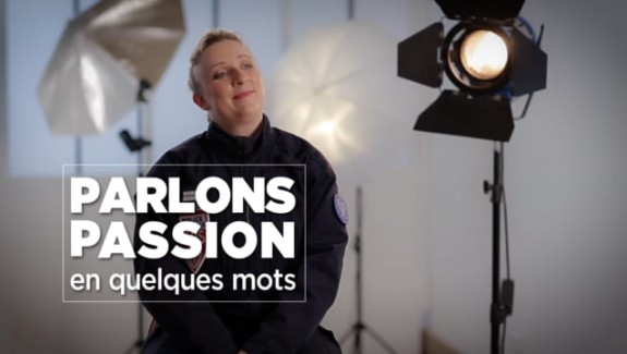Parlons Passion 2018 – Anne- Sophie, Lieutenant de police – CRS
