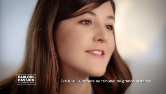 Parlons Passion 2018 –  Louise, greffière