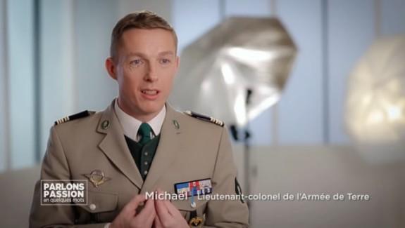 Parlons Passion 2018 – Michaël, Lieutenant-colonel de L'Armée de Terre