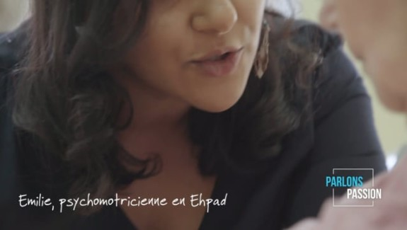 Parlons Passion 2019, Emilie psychomotricienne