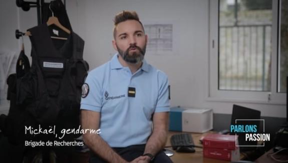 Parlons Passion 2019, Mickaël gendarme brigade de recherche
