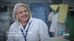 Parlons Passion 2019, Alexandra blanchisseuse AP-HP
