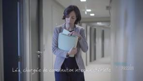 Parlons Passion 2019, Léa chargée de coordination interministérielle.