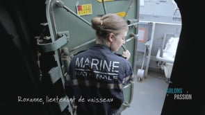 Parlons Passion 2019, Roxanne lieutenant de vaisseau