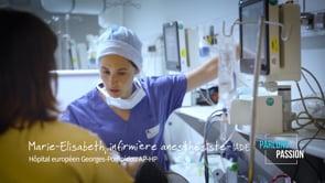Parlons Passion 2019, Marie-Elisabeth infirmière anesthésiste – IADE