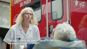 Parlons Passion 2020, Corinne, cadre de soin brancardage