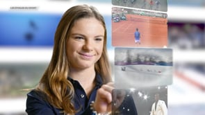 MATHILDE DOUDOUX, «Les étoiles du sport»