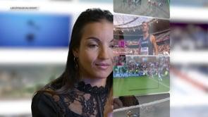 SARAH OURAHMOUNE , «Les étoiles du sport»