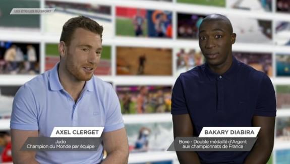 Bakary BIABIRA, «Les étoiles du sport» saison 2