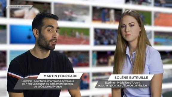 Solène  Brutuille, «Les étoiles du sport»