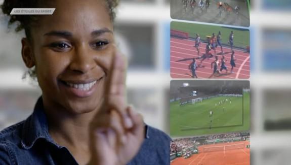 LAURA GEORGES, «Les étoiles du sport»